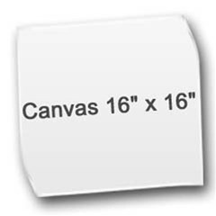 Canvas 16  x 16