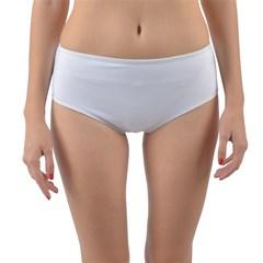 Reversible Mid-Waist Bikini Bottoms