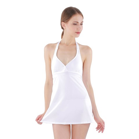 Halter Dress Swimsuit