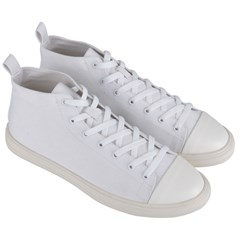 Men s Mid-Top Canvas Sneakers
