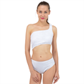 Spliced Up Two Piece Swimsuit
