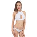 Cross Front Halter Bikini Set