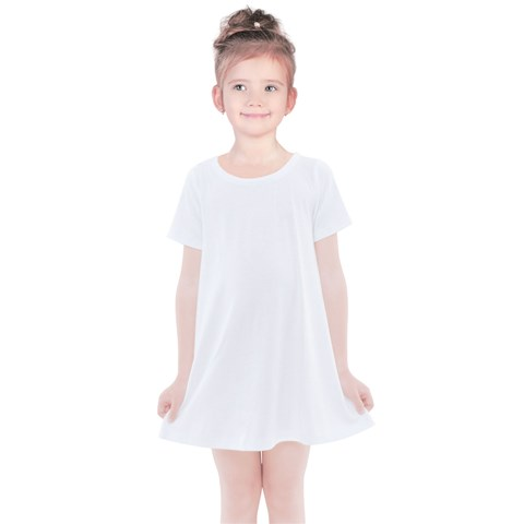 Kids  Simple Cotton Dress