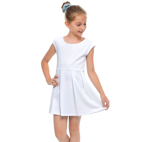 Kids  Cap Sleeve Dress
