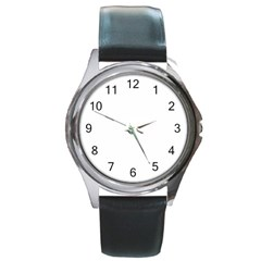 Round Metal Watch