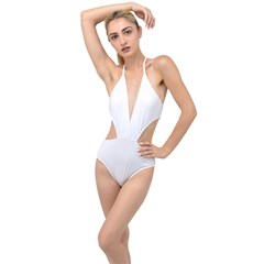 Plunging Cut Out Swimsuit