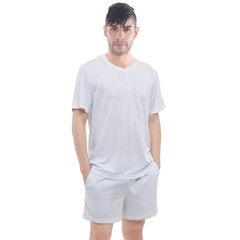 Men s Mesh Tee and Shorts Set