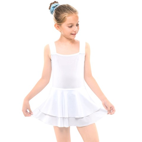 Kids  Layered Skirt Swimsuit