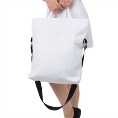 Fold Over Handle Tote Bag