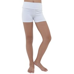 Kids  Lightweight Velour Yoga Shorts