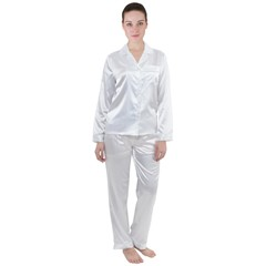 Satin Long Sleeve Pyjamas Set