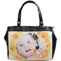 Oversize Office Handbag (One Side)