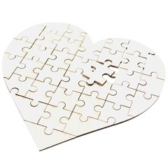 Wooden Puzzle Heart