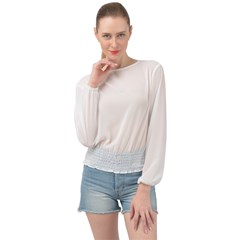 Banded Bottom Chiffon Top