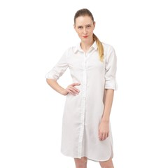 Long Sleeve Mini Shirt Dress