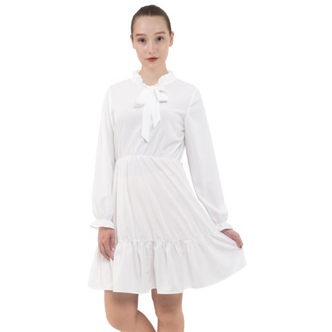 All Frills Chiffon Dress