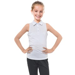 Kids  Sleeveless Polo Tee