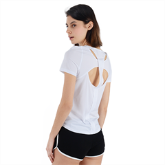 Back Cut Out Sport Tee