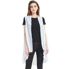 Sleeveless Chiffon Waistcoat Shirt