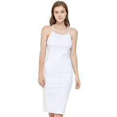 Bodycon Cross Back Summer Dress