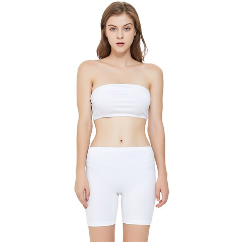 Stretch Shorts and Tube Top Set