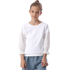 Kids  Cuff Sleeve Top