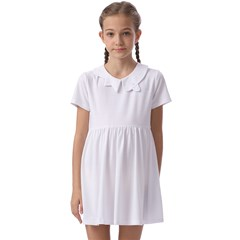 Kids  Asymmetric Collar Dress