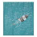 Make Your Own Personalized Shower Curtain 66  x 72  (Large)