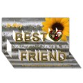 Design Your Own Personalized Best Friends 3D Card (8x4)