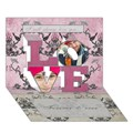Make Your Own Personalized LOVE 3D Card (7x5)
