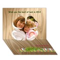 Design Your Own Personalized Clover 3D Card (7x5)