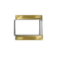 Gold Trim Italian Charm (9mm)