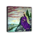 Jesus Overlooking Jerusalem by Ave Hurley  Mini Canvas 4  x 4  (Stretched)