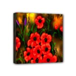 Poppies  Mini Canvas 4  x 4  (Stretched)