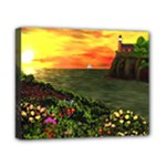 Eileen s Sunset By Ave Hurley   Canvas 10  x 8  (Stretched)