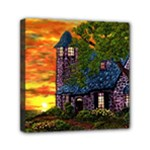 Jessica s Cottage by Ave Hurley - Mini Canvas 6  x 6  (Stretched)