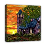 Jessica s Cottage by Ave Hurley - Mini Canvas 8  x 8  (Stretched)