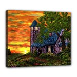 Jessica s Cottage by Ave Hurley - Deluxe Canvas 24  x 20  (Stretched)