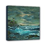 Hobson s Lighthouse by Ave Hurley -  Mini Canvas 6  x 6  (Stretched)