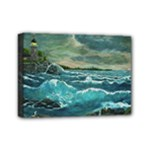 Hobson s Lighthouse - Ave Hurley - Mini Canvas 7  x 5  (Stretched)