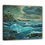 Hobson s Lighthouse by Ave Hurley - Canvas 24  x 20  (Stretched)
