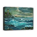 Hobson s Lighthouse by Ave Hurley - Deluxe Canvas 16  x 12  (Stretched)