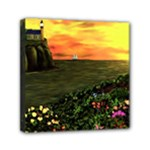Eddies Sunset-1 by Ave Cosgriff Hurley - Mini Canvas 6  x 6  (Stretched)
