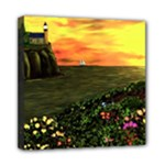Eddies Sunset by Ave Cosgriff Hurley Mini Canvas 8  x 8  (Stretched)