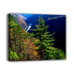 Pa Grand Canyon , South View by Ave Hurley -  Deluxe Canvas 14  x 11  (Stretched)