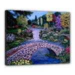 My Garden by Ave Hurley - Canvas 20  x 16  (Stretched)