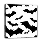 Deathrock Bats Mini Canvas 8  x 8  (Stretched)