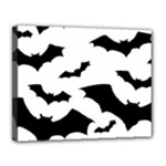 Deathrock Bats Canvas 14  x 11  (Stretched)