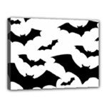 Deathrock Bats Canvas 16  x 12  (Stretched)