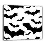 Deathrock Bats Canvas 24  x 20  (Stretched)
